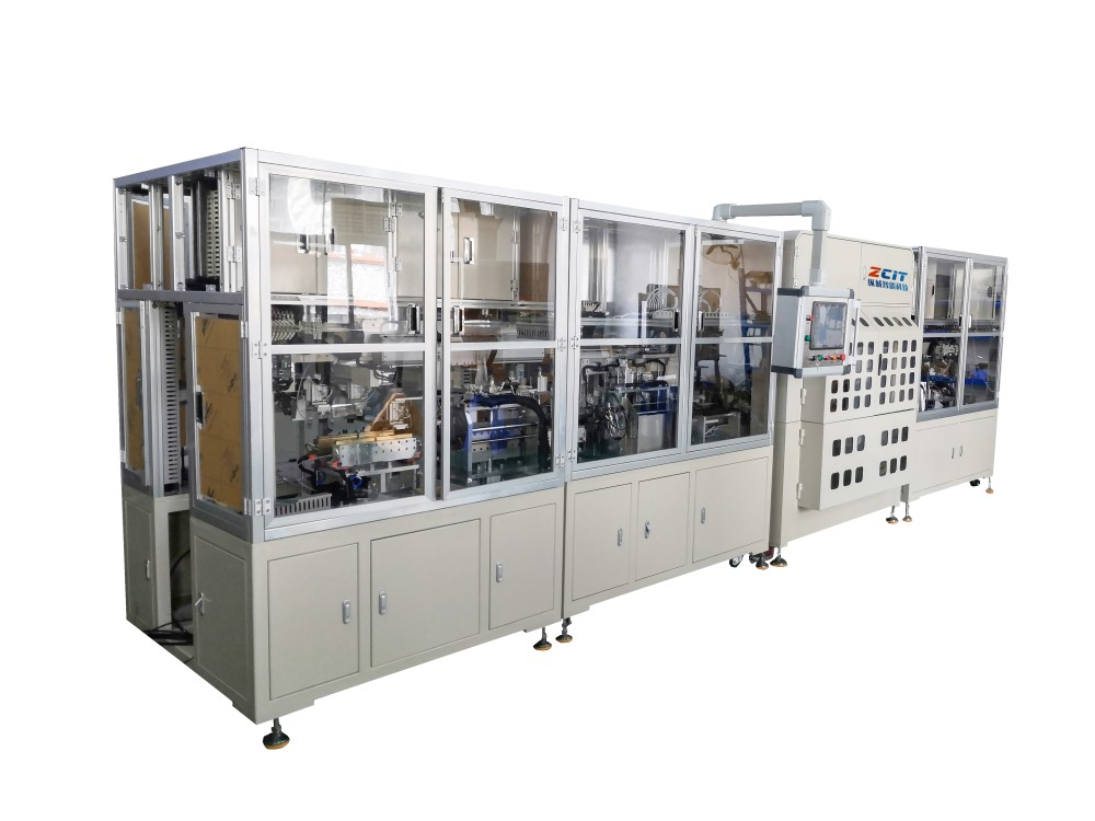 Lithium battery packaging equipment